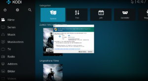 Windows 10 Kodi App - Windows-Sicherheitshinweis
